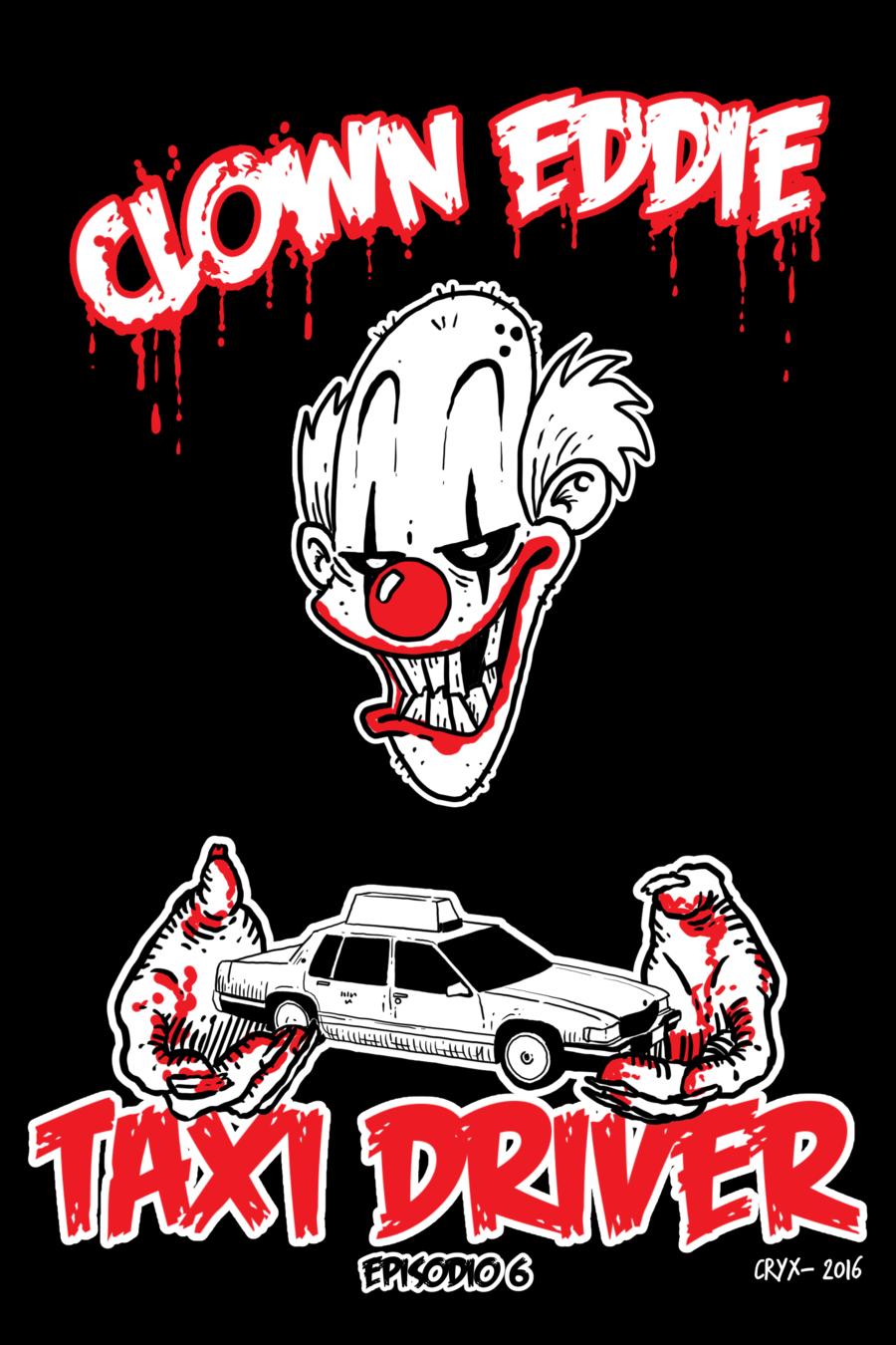 Clown Eddie: Taxi driver